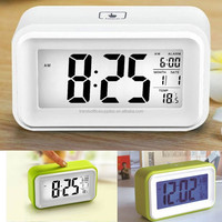 1.5v aaa alarm clock battery operated calendar clock