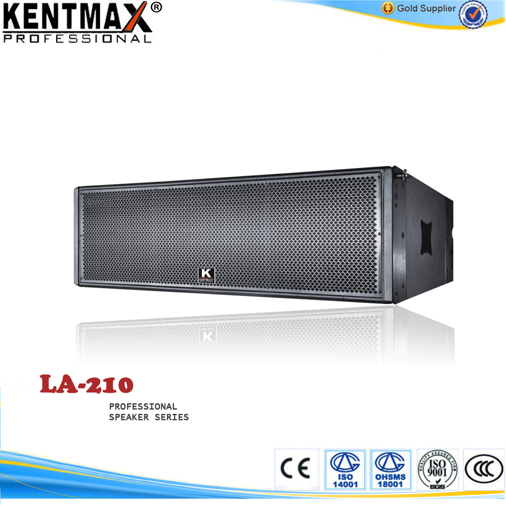 High performance linear array system concert speakers