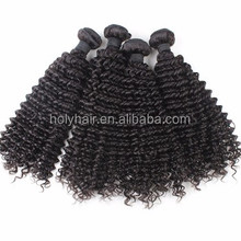 Hot selling wholesale cheap virgin brazilian kinky curly remy hair weave