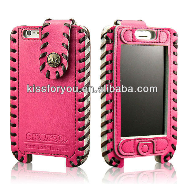 OEM/ODM available Wholesale leather case cell phone showkoo case for iphone 5
