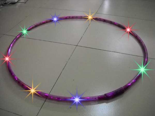 promotion Led hula hoop fitness hula hoop electric hula hoop