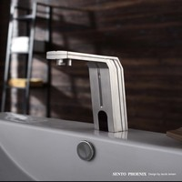 SENTO Stainless steel electric water heater faucet for small kitchen design