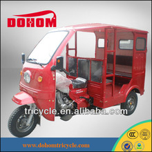 150cc semi closed cabin passenger tricycle