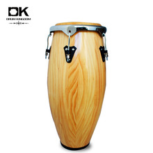 Nature solid wood percussion musical instrument conga drum