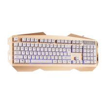 Promotional Washable Chocolate USB Wired Keyboard Ultra-Slim Waterproof PC External Full Qwerty Keyboard