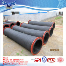 Rubber Water Suction Hose Rubber Hose Flexible Hose With Flange End