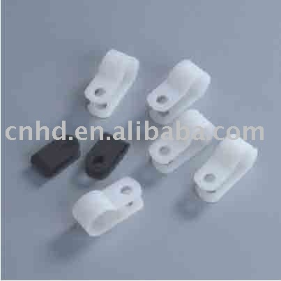 wall cable clamp,R type cable clamp,clips plastic