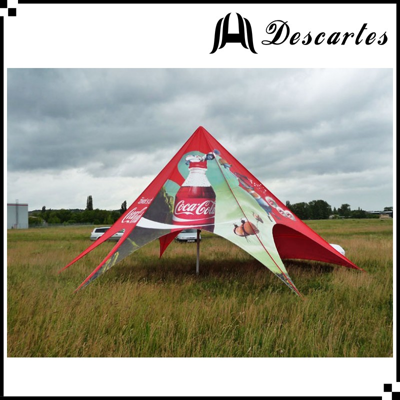 Full printing star shelter tents, 14m event tents, commercial tents for advertising
