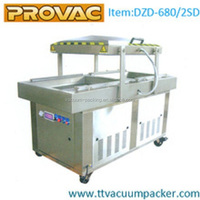DZD-680 automatic food vacuum packing machine for food commercial