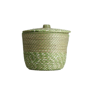 Simple style rattan cutlery gift plant handicraft basket handmade woven wicker basket