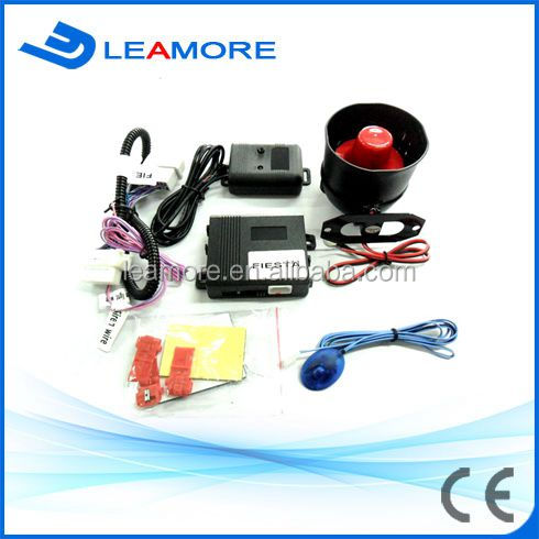 One way car alarm can bus car alarm security alarm system for Ford F-I-E-S-T-A with car siren