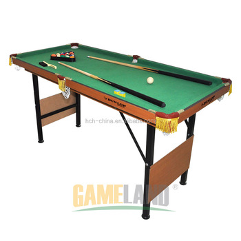 Foldable Pool Table With Folding Legs