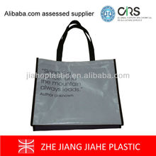Eco friendly printed portable pp shopping bag