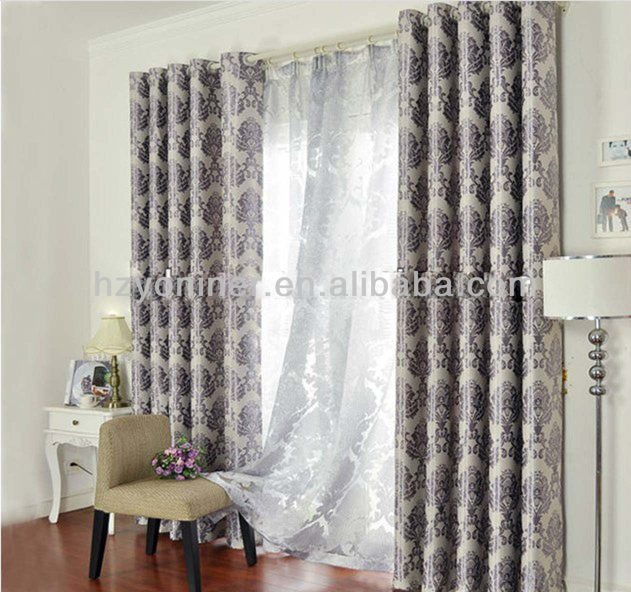 2015 Fashionable Design Luxury Jacquard Blackout Fabric/Classical Design Jacquard Upholstery Fabric