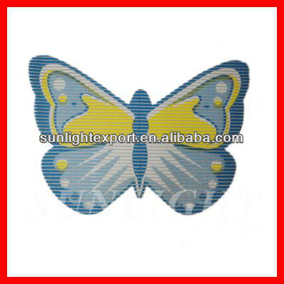 cheap butterfly rubber mat fireproof mat