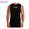 Cutted Sleeves Tank Tops Men Gym