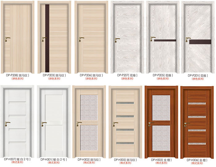 Portes Interieures Pas Cher #5: Pas Cher HDF Mélamine Porte Intérieure Pour Chambre