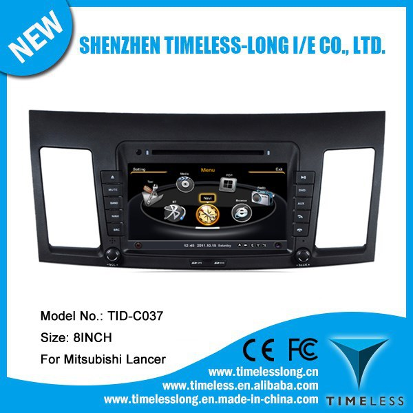 S100 Car Radio For Mitsubishi Lancer 2010-2011 with GPS A8 Chipset 3 zone POP 3G/wifi BT 20 dics playing