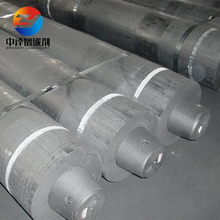 High quality UHP HP grade carbon fiber graphite electrode with nipple