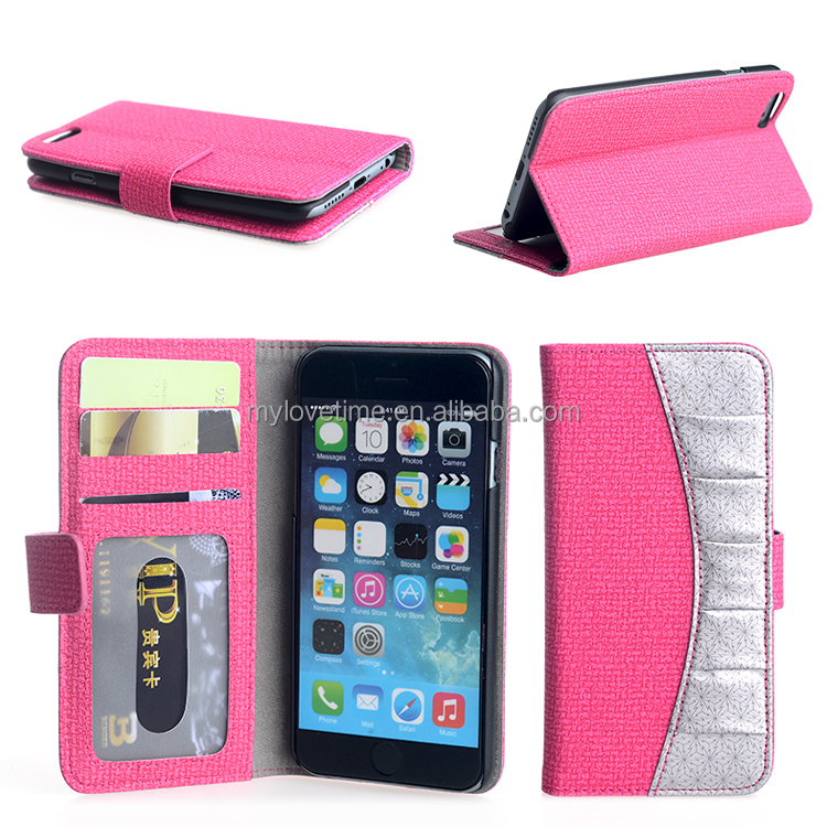 custom leather mobile phone case for iphone 6