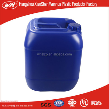 Customized plastic jerry cans/ Gasoline diesel fuel container with tube 25L
