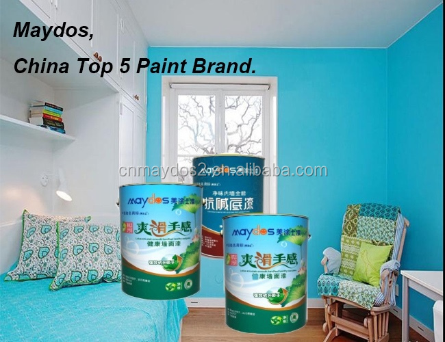 Acrylic copolymer emulsion Smooth Feeling Interior Latex Paint