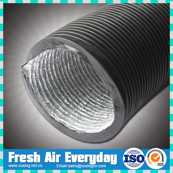 Ventilation air conditioner plastic flexible air duct pu flexible duct