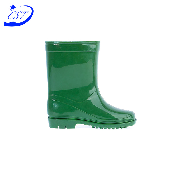 Top Rubber Cheap Comfortable Waterproof Rain Boots For Kids