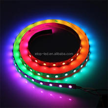 ws2812b led strip/addressable led strip IP68 waterproof