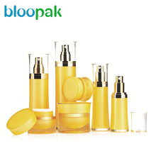 elegant plastic airless cosmetic acrylic lotion pump bottle for personal care