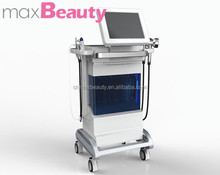 Water facial spray gun Diamond dermabersion LED therpay treament BIO eyes therapy whitening and acne treament