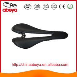 New Full carbon mountain bicycle saddle with leather