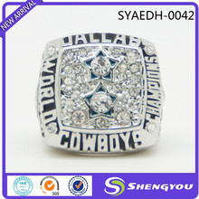 Wholesale High Quality Alloy Championshiop Ring Jewelry Dallas Cowboys Rings