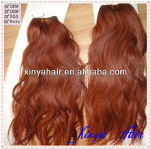 Noble Products Common Price Natural wave Peruvian hair weave color 33