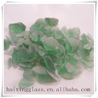 China wholesale Frosted glass block for building materials-green
