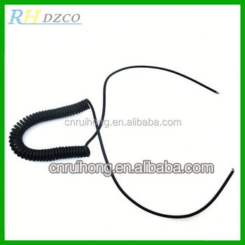 video cable 2 core dc head parallel lines