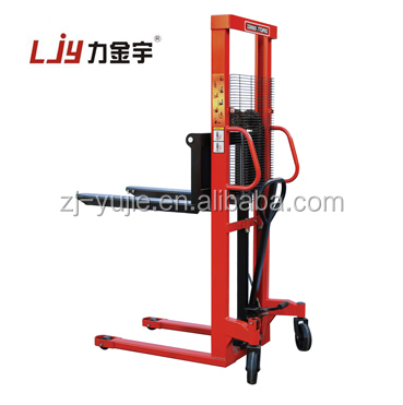 cheap price 2 ton 1.6m manual forklift hydraulic hand pallet stacker