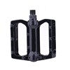 2016 Mini bicycle foot Pedals New Arrival exercise bike pedal Aluminum Cage Black Cycling Pedals Wholesale