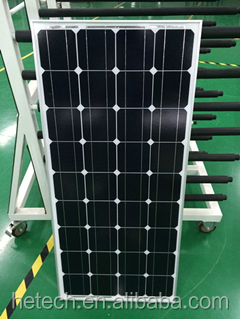 High efficiency china supply mono 100w solar panel 12v with good price