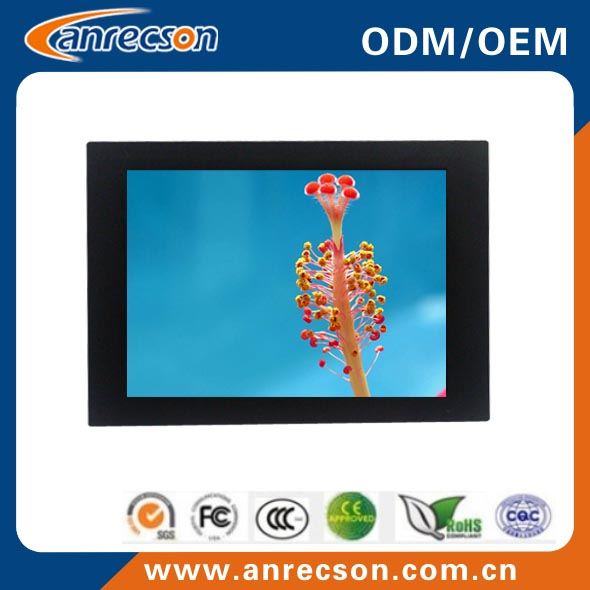 "15"" fanless panel pc intel Atom N2600"