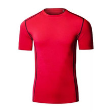 High Quality Clothing Manufacturers Cotton Sport Wear Men's t shirt Wholesale Fitness Apparel manufacturers for mens T shirt