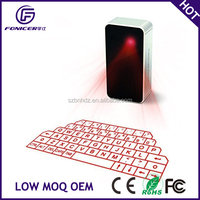 Ultra-Portable Wireless Bluetooth Laser Projection Virtual Keyboard for Android IOS Windows
