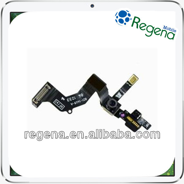 Wholesale Price Original Front Camera Mobile Phone With Sensor Flex Cable Spare Part for Iphone 5
