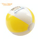 Outdoor Yellow Popping Plastic Small Inflatable Beach Ball