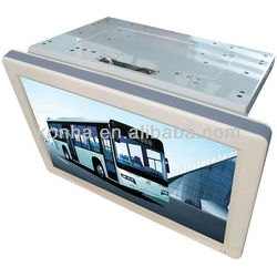 "24"" Iphone design LCD Bus DVD Player 24V"