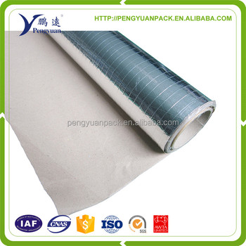 aluminum foil scrim kraft facing roof insulation Reinforcing foil paper FSK insulation