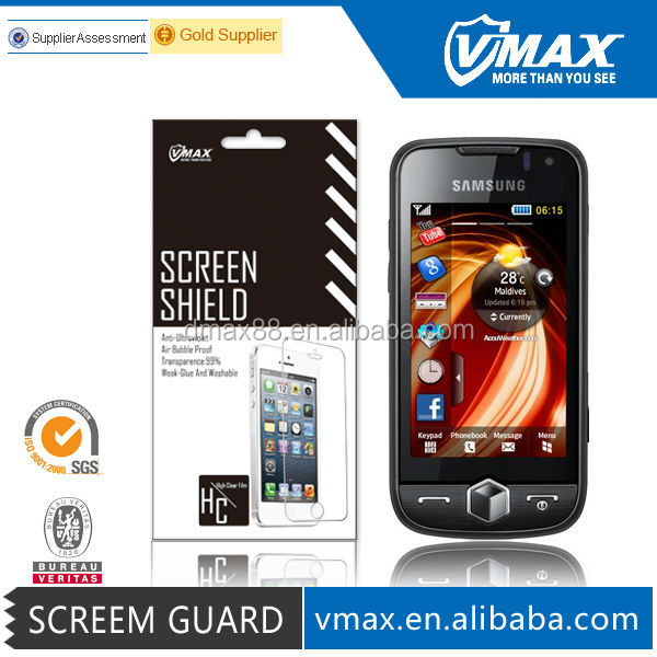 Newest Moible screen protector for Samsung s8000 oem/odm (Anti-Glare)