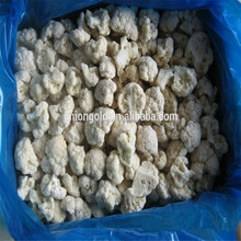 frozen decorating cauliflower florets export to Japan and Europe