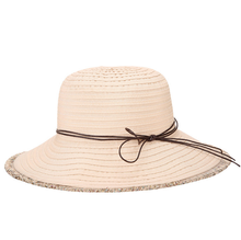 Bucket Cord Sun Summer Beach Hat Wide Brim for Women Foldable