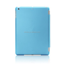 smart leather case for ipad mini Retina with clear shell Newest